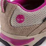 Baskets beige et rose goretex fille TIMBERLAND marque pas cher prix dégriffés destockage