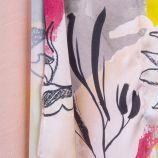 Haut rose print DUNNES marque pas cher prix dégriffés destockage