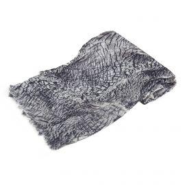 Foulard gris imprimé animal CALVIN KLEIN