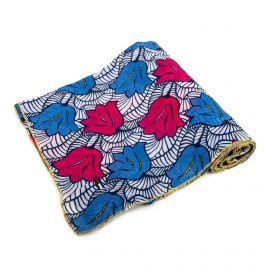 Foulard bleu à fleurs Femme TOMMY HILFIGER
