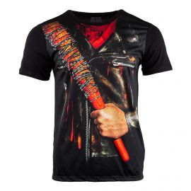 Tee shirt The Walking Dead batte Negan Lucille Homme MARVEL