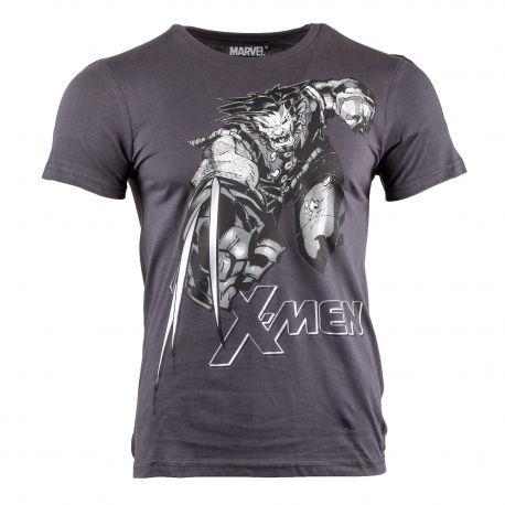 Tee shirt X-Men manches courtes Homme MARVEL marque pas cher prix dégriffés destockage