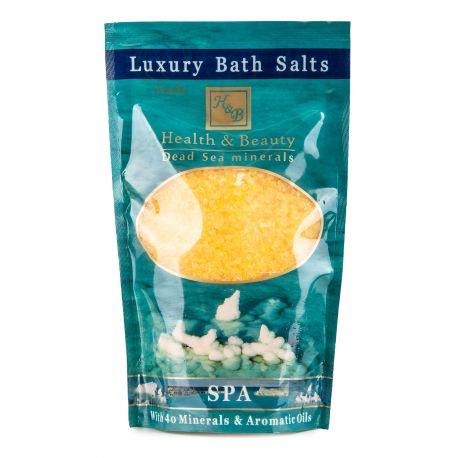 Sel de bain jaune (500g) Femme HEALTH & BEAUTY