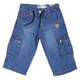 Bermuda en jean glc08404 Enfant LEE COOPER marque pas cher prix dégriffés destockage