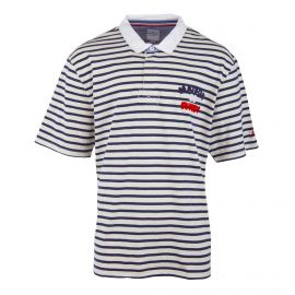 Polo manches courtes à rayures Homme RUCKFIELD