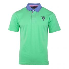 Polo manches courtes vert  Homme RUCKFIELD