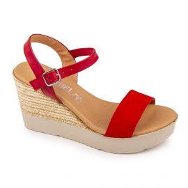 Sandales compensées Femme ISSA MIEL