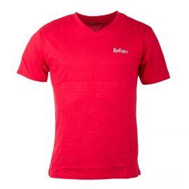 Tee shirt col v coton hollywood/lee cooper Homme LEE COOPER marque pas cher prix dégriffés destockage