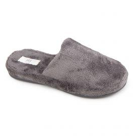 Chaussons polaire gris foncé Mixte EKE