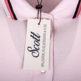 Polo manches courtes coton doux piqué strech Nanou Femme SCOTT marque pas cher prix dégriffés destockage