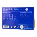 Lot de 6 verres 30cl hexagone Mixte DURALEX marque pas cher prix dégriffés destockage
