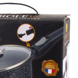 Casserole 16cm induction manche amovible avec couvercle Mixte NAPOLEON