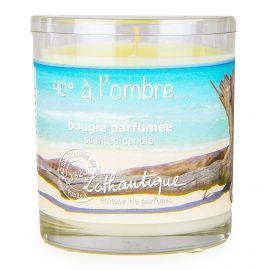 Bougie parfumée senteur monoï 140g Mixte 40° à l'ombre LOTHANTIQUE