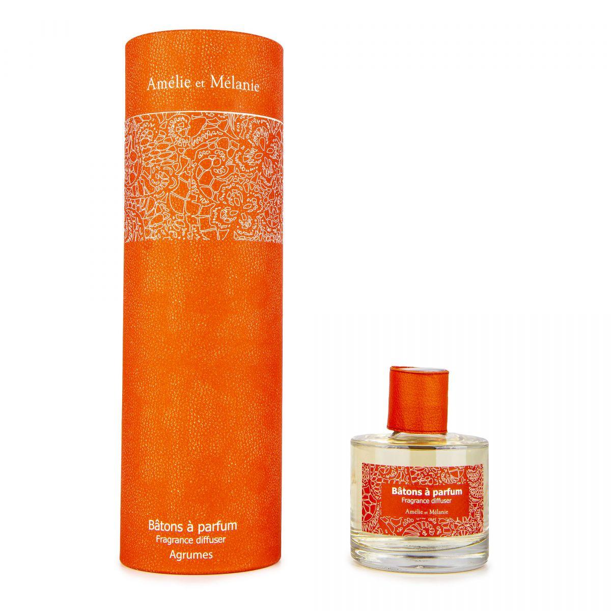 Batons a parfum diffuseur 200ml agrume Mixte LOTHANTIQUE