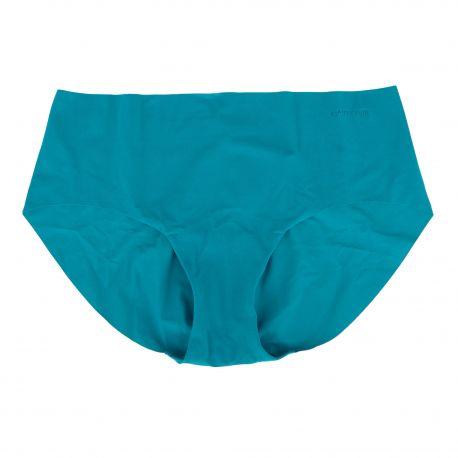 Culotte microfibre sans couture bleu Femme VANITY FAIR marque pas cher prix dégriffés destockage
