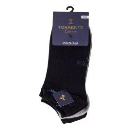 Lot de 3 paires de socquettes 05124 (39/42) - (43/46) Homme TORRENTE